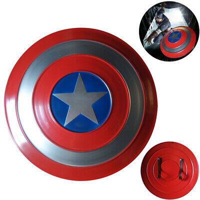 Avengers Captain America Shield Iron Replica Cosplay Prop VintageBar Decoration