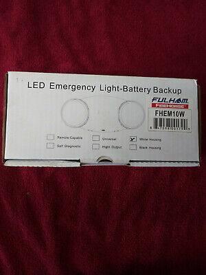 FULHAM FIRE HORSE LED  Emergency Light, White  P/N FHEM10W