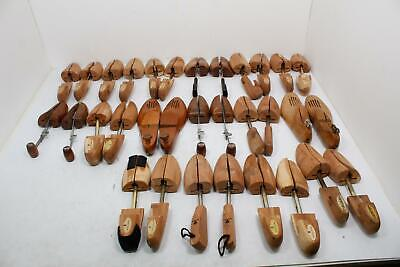 Lot of 16 Vintage Shoe Trees/Shapers