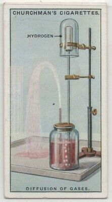 Gas Diffusion Demonstration Science Experiment 1920s Trade Ad Card