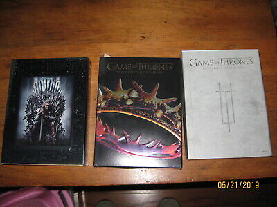Game of Thrones DVD Seasons 1,2, and 3