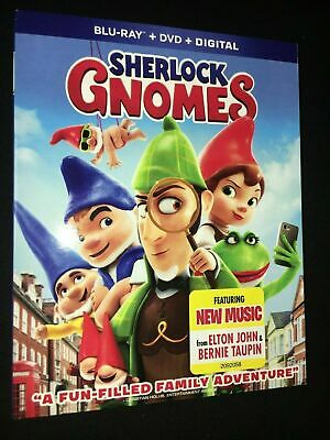 Sherlock Gnomes [Blu-ray] DVD, Mary J Blige,Mary Blige J,Maggie Smith,Michael Ca