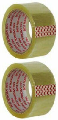 "Clear Packing Tape 2""X55 Yds (2 Pack)"