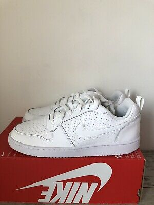 d8922aa85af78 WOMENS NIKE WHITE Court Borough Low Trainers Shoes UK 7 EUR 41 ...