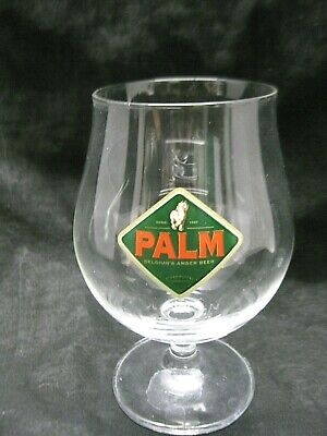 New set of 6 Anno 1747 Palm Speciale Belge Tulip Shaped Beer//Cocktail Glasses