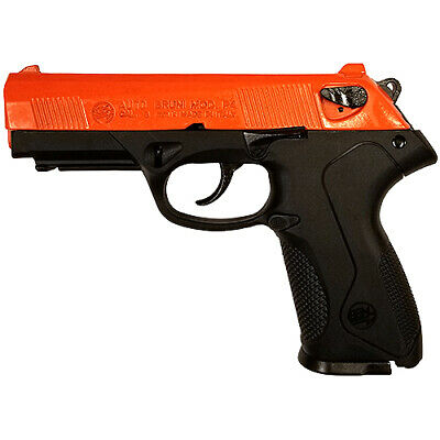 Replica P4 Automatic Blank Firing Gun Blaze Orange Finish