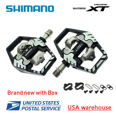 2019 Shimano Deore XT PD-T8000 Trekking Touring Mountain Pedals SPD Click/'R