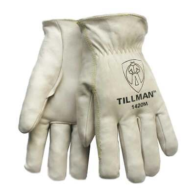 "Tillman 1420 Grade ""A"" Top Grain Cowhide Drivers Gloves, Medium"