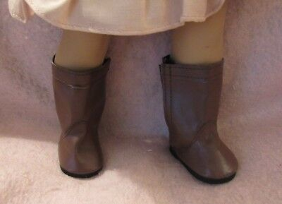 Brown  Boots fit American Girl Doll 18 Inch Clothes Seller lsful