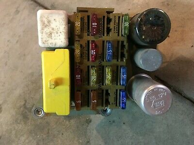 89 90 91 92 1990 dodge dakota under dash fuse box 3 9l