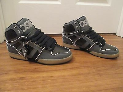 c16b704b743 BNIB SIZE 12 Osiris NYC 83 ULT Shoes Charcoal Gray Black - $49.99 ...