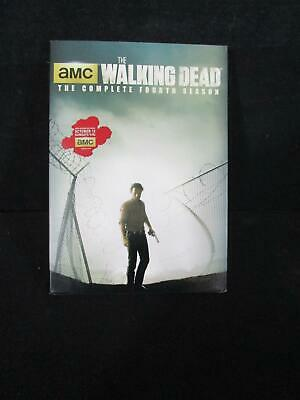 AMC Walking Dead -The complete fourth season DVD - New & sealed (140)