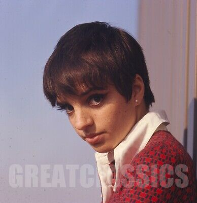 Liza Minnelli 1966 Age 20 Young Beautiful 2 1/4 Color Camera Transparency Ds