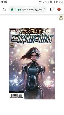 War Of Realms New Agents Of Atlas # 1 Jeehyung Lee 2nd Print Variant Ships 6/12