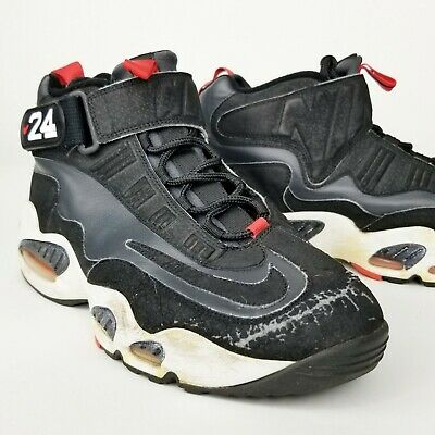 af0d512f6f Rare Nike Air Ken Griffey Jr. Max 1 Anthracite Black Hot Red White Men Sz