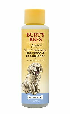 Burt's Bees All Natural 2-in-1 Tearless Puppy Shampoo & Conditioner for Dogs ...