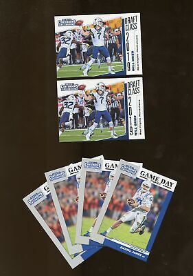 Lot of 12 2019 Contenders Draft Class Game Day Ticket DANIEL JONES GRIER (AY21)