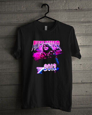 Alice Cooper VIP 2012 Tour Shirt Sizen USA Reprint Limited edition