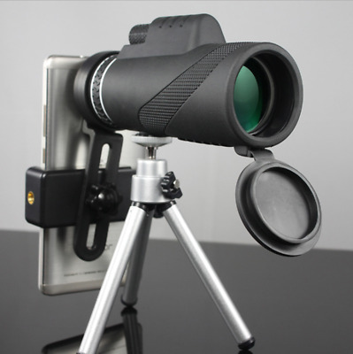 40X60 Dual Focus HD Optics Zoom Monocular Telescope HD Binoculare Day & Night