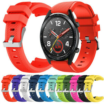 Replacement Silicone Watch Band Wrist Strap For Huawei Watch GT Smart Watch 22mm
