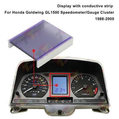 Display mit Leitstreifen für Honda Goldwing GL1500 Gauge Cluster 1988-2000