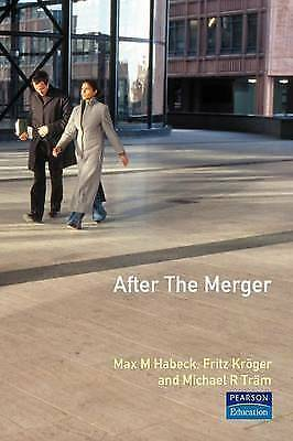 """""""AS NEW"""" Tram, Michael R.,Kroger, Fritz,Habeck, Max M., After the Merger, Textbo"""