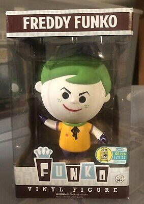 Funko Fundays SDCC 2016 Freddy Retro Joker  LE100 DC Vinyl Figure RARE! Batman