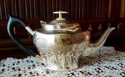 Antica teiera Sheffield royal prince old victorian collection