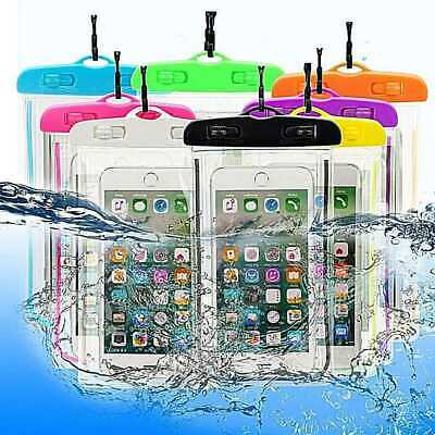 Universal Waterproof Underwater Phone Case Dry Bag Pouch for 6 inch Smartphones