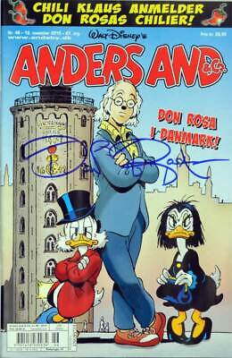 Dänisches Micky Maus signiert von Don Rosa / Anders And & Co. #46 signed by Don