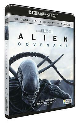 RIDLEY SCOTT-Alien : Covenant [4K Ultra Hd + Blu-Ray + Digital Hd] BLU-RAY NEUF