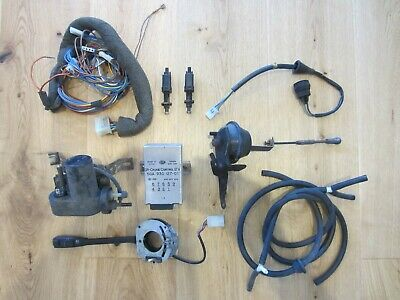 Golf 2 Original GRA Tempomat Komplett Set Lenkstockschalter Ventil Pumpe US USA