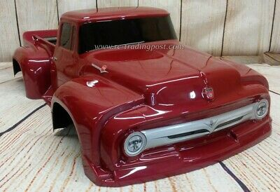 Custom Painted Body 1956 Ford F 100 Pro Touring For 1 10 Rc Short Course Truck Eur 75 22 Picclick Fr