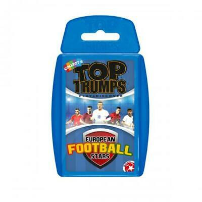 Euro Football Stars Top Trumps Playing Card Game
