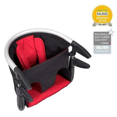 Phil & Teds Lobster v2 Portable Baby High Chair Seat (Red)