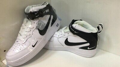 0920f7ec94 NIKE AIR FORCE 1 MID 07 LV8 Utility High Cut White Size US 10 EUR 44