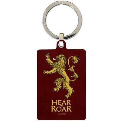 Game Of Thrones Souvenir Collectable Metal Keyring Key Ring Lannister