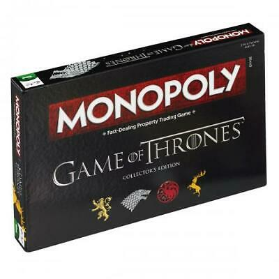 Game Of Thrones Souvenir Collectable  Edition Monopoly Board Game