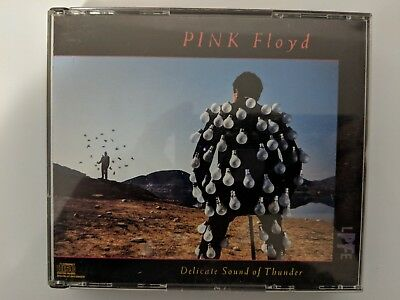 Delicate Sound of Thunder [Box] by Pink Floyd CD 1988 2 Discs Columbia Canada