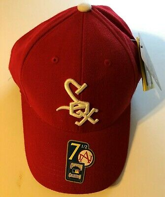 buy popular a3180 cb6dc Chicago White Sox 1971-75 Cooperstown Collection Vintage Mlb Baseball Cap  Hat