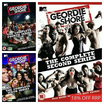Geordie Shore Series 12345678 (DVD) Box Set Complete Collections - TV Seasons