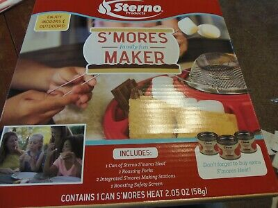 Sterno® S'mores Maker Kit, Indoor or Outdoor.  ***FREE SHIPPING***  (APT-GAR)