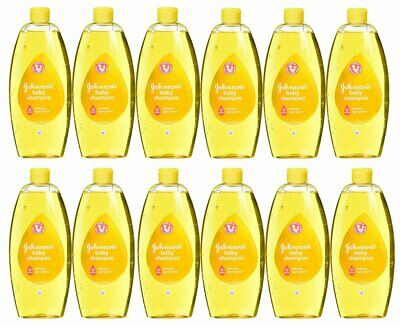 Johnson & Johnson Baby Shampoo 750 Ml (25.4 Oz) (12 Pack)