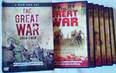 The Great War 1914-1918 (6 DVD)