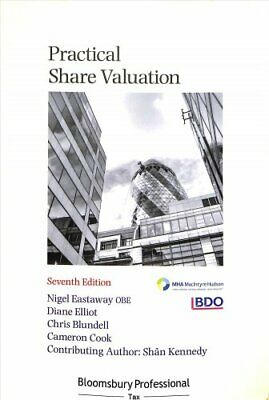Practical Share Valuation by Nigel Eastaway 9781526505088 | Brand New
