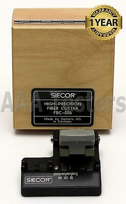 Siecor Corning FBC-006 SM MM High Precision Fiber Cleaver FBC 006