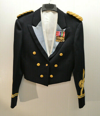 Vietnam Period US Army Officer's Mess Dress Jacket Waistcoat AND MEDALS