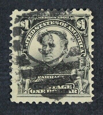 CKStamps: US Stamps Collection Scott#311 $1 Used CV$95