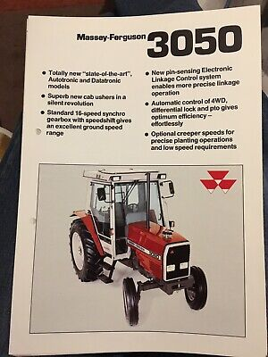 Business, Office & Industrial Precise Massey Ferguson 1010 Tractor Sales Brochure Spec Sheet Classic Vintage Tractor Easy To Use