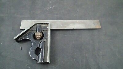 "6"" Combination Square Machinist Tool by Proto USA 966"